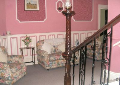 Just one of our cosy living areas available for all our guests to relax in.