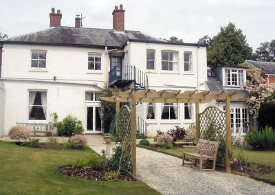 Our traditional home is located in the West Berkshire countryside.
